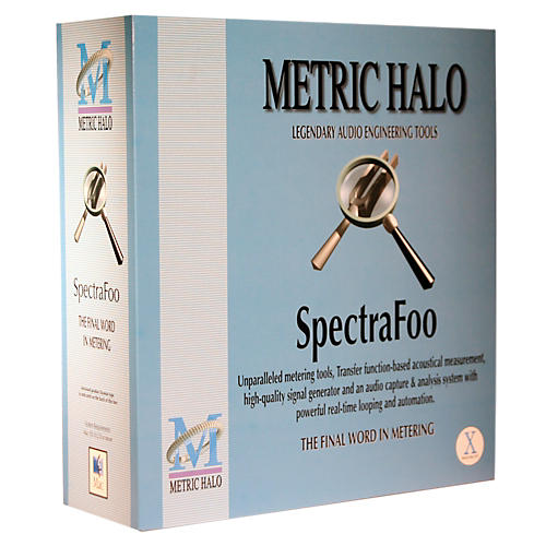 METRIC HALO SpectraFoo Standard OSX Standalone Software Download