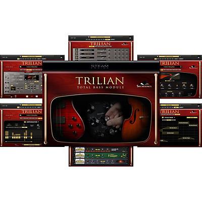 Spectrasonics Spectrasonics Trillian Total Bass Module Software