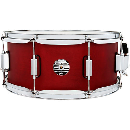 PDP by DW Spectrum Series Snare Drum 14 x 6.5 in. Cherry Matte Lacquer