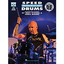 Hal Leonard Speed Mechanics for Drums Drum Instruction Series Softcover Video Online Written by Troy Stetina