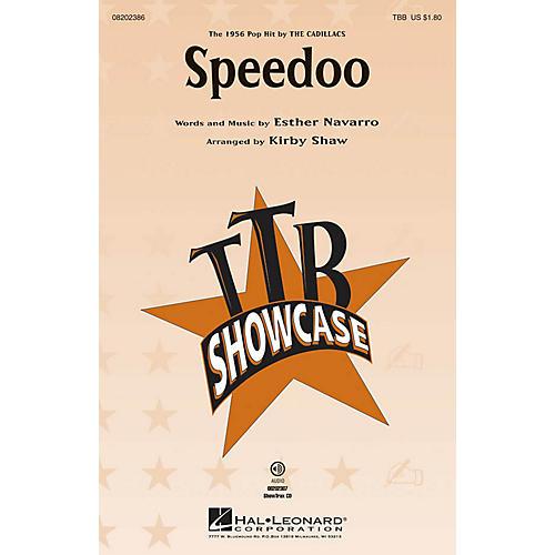 Hal Leonard Speedoo ShowTrax CD Arranged by Kirby Shaw