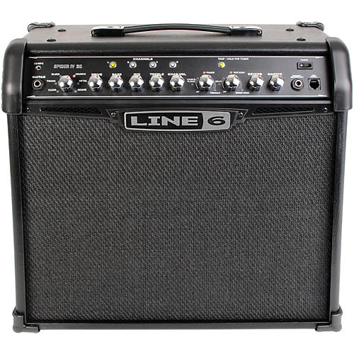 line 6 spider iv 30 30w 1x12 guitar combo amp musician 39 s friend. Black Bedroom Furniture Sets. Home Design Ideas