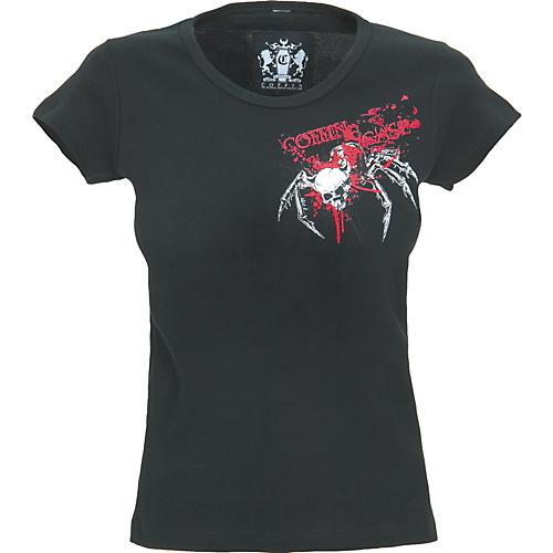 Coffin Case Spider Skull Women's T-Shirt