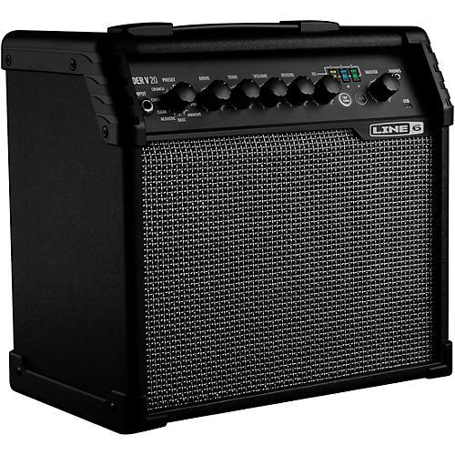 Line 6 Spider V 20 20W 1x8 Guitar Combo Amp Black