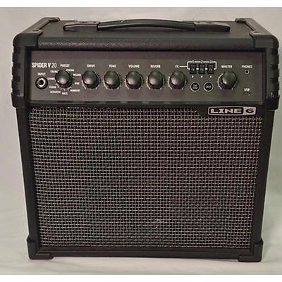 Line 6 Spider V 20 MK II 1x8 Guitar Combo Amp
