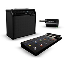 Line 6 Spider V 60 60W 1x10 Guitar Combo Amp with FBV 3 Footswitch and Relay G10T Wireless Transmitter