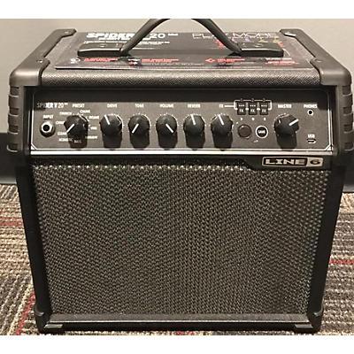 Line 6 Spider V20 Guitar Combo Amp
