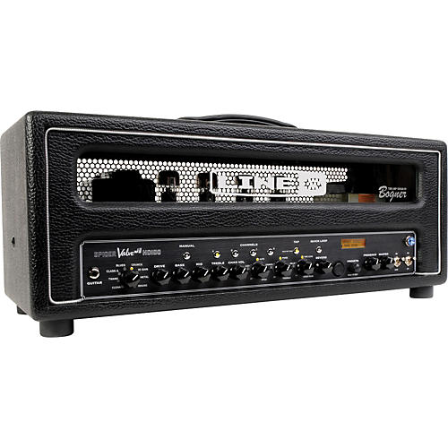 line 6 spider valve hd100 mkii 100w guitar amp head musician 39 s friend. Black Bedroom Furniture Sets. Home Design Ideas