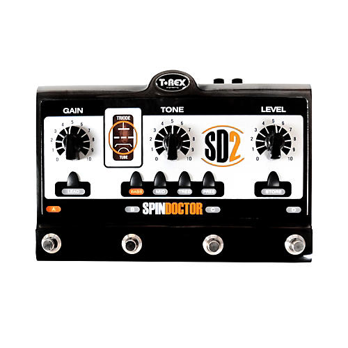 T-Rex Engineering SpinDoctor 2 Overdrive Preamp Guitar Effects Pedal
