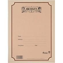 Archives Spiral Bound Manuscript Paper 10 Staves