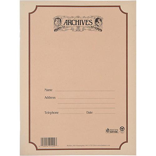 Archives Spiral Bound Manuscript Paper 12 Staves