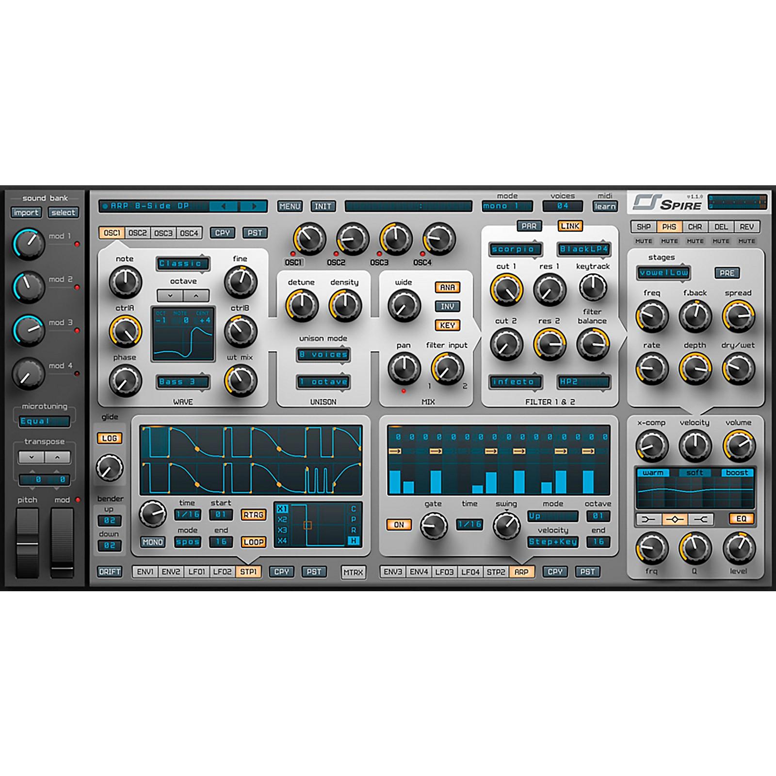 REVEL Spire Virtual Synthesizer