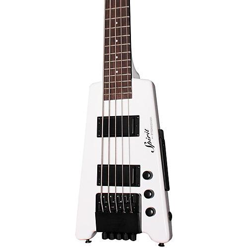 Steinberger Spirit XT-25 Standard 5-String Bass White
