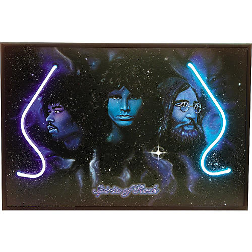 Gifts of Note Spirits of Rock Neon Poster