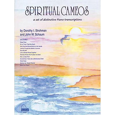 SCHAUM Spiritual Cameos Educational Piano Series Softcover