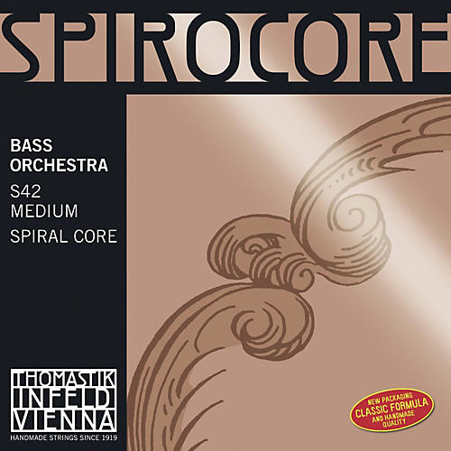 Thomastik Spirocore 4/4 Size Double Bass Strings 4/4 Weich E String