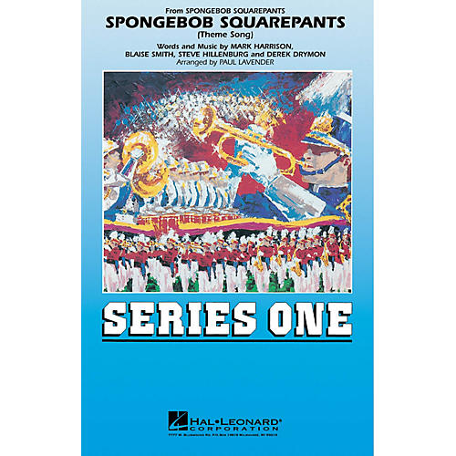 Hal Leonard Spongebob Squarepants Marching Band Level 2 Arranged by Paul Lavender