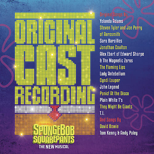 Alliance Spongebob Squarepants The New Musical (Original Cast Recording)