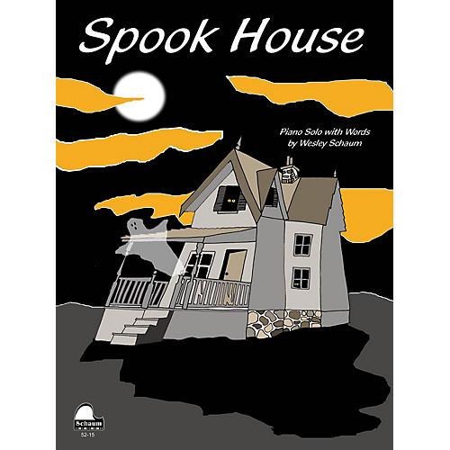 SCHAUM Spook House Educational Piano Series Softcover