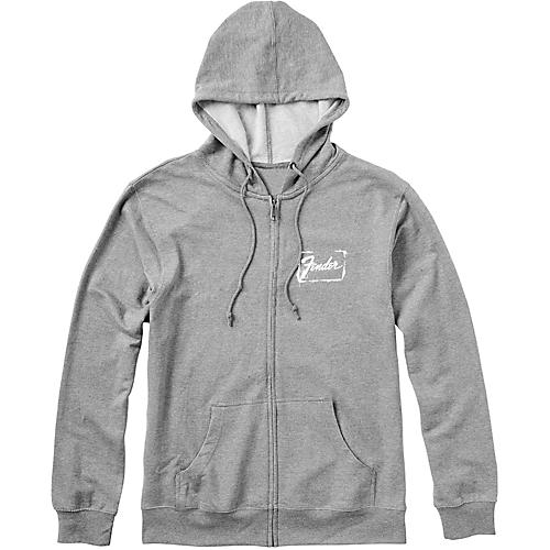 Fender Spraypaint Sweatshirt Gray XX Large