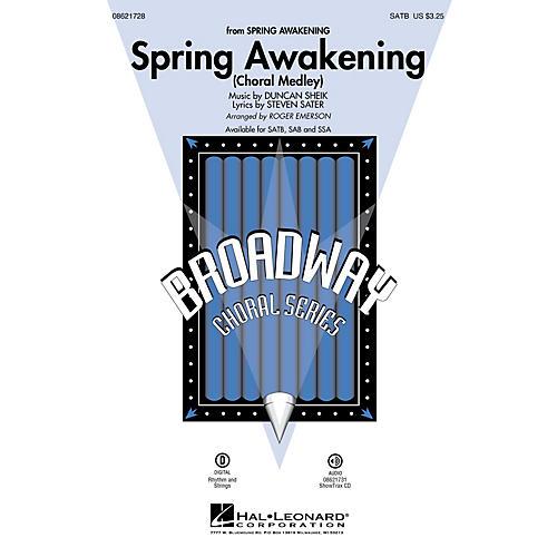 Hal Leonard Spring Awakening (Choral Medley) ShowTrax CD Arranged by Roger Emerson
