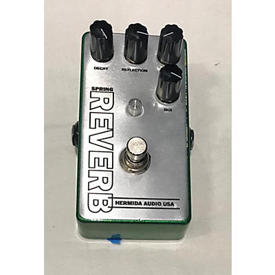 Lovepedal Spring Reverb Hermida Effect Pedal