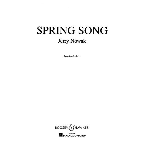 Boosey and Hawkes Spring Song Op. 62, No. 6 Concert Band Composed by Jerry Nowak