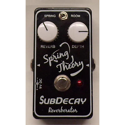 Subdecay Spring Theory Effect Pedal