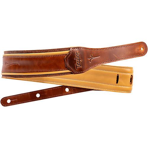 Taylor Spring Vine Leather Guitar Strap Brown 2.5 in.