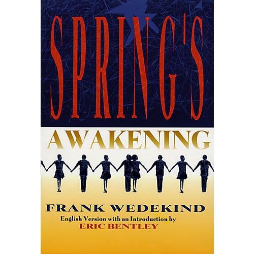 Applause Books Spring's Awakening Applause Books Series Softcover Written by Frank Wedekind
