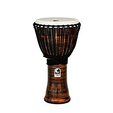 Spun Copper Rope Tuned Djembe 12 in.