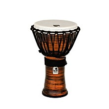 Spun Copper Rope Tuned Djembe 9 in.