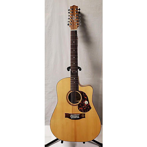 Srs70c 12 String Acoustic Electric Guitar