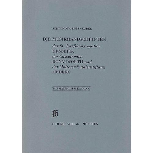 G. Henle Verlag St. Josefskongregation Ursberg, Cassianeum Donauwörth und Malteser-Studienstiftung Amberg Henle Books
