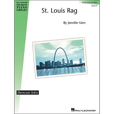 Hal Leonard St. Louis Rag - Showcase Solo Level 4 Early Intermediate Hal Leonard Student Piano Library by Jennifer Linn