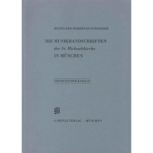 G. Henle Verlag St. Michaelskirche in München Henle Books Series Softcover