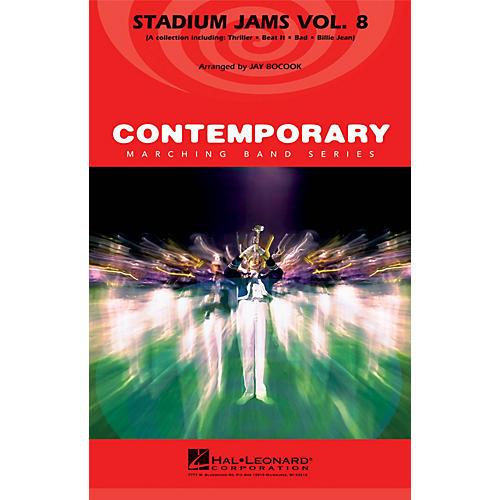 Hal Leonard Stadium Jams - Volume 8 Marching Band Level 3-4 by Michael Jackson Arranged by Jay Bocook