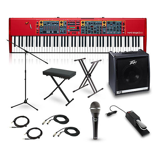 Nord Stage 2 Compact 73-Key Complete Stage Bundle