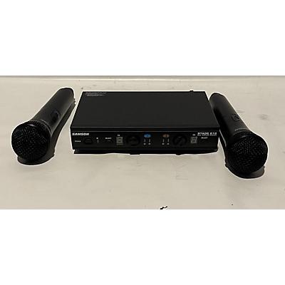 Samson Stage 212 Handheld Wireless System