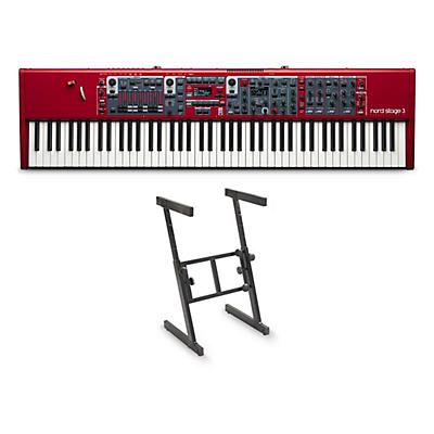Nord Stage 3 88 and Z Stand