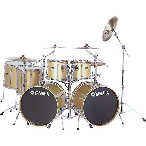 Yamaha Stage Custom Advantage 7pc Double Bass Drumset