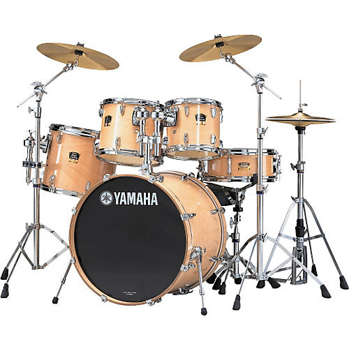 Yamaha 5 Piece Drum Set : yamaha stage custom advantage fusion 5 piece drum set musician 39 s friend ~ Russianpoet.info Haus und Dekorationen