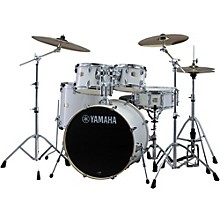 Stage Custom Birch 5-Piece Shell Pack with 20 inch Bass Drum Pure White