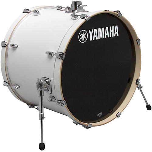 Yamaha Stage Custom Birch Bass Drum 18 x 15 in. Pure White