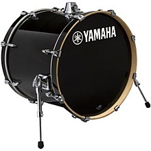 Stage Custom Birch Bass Drum 18 x 15 in. Raven Black