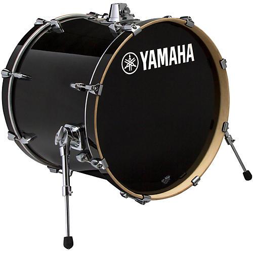 yamaha stage custom birch bass drum 18 x 15 in raven black musician 39 s friend. Black Bedroom Furniture Sets. Home Design Ideas