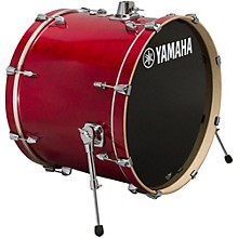 Stage Custom Birch Bass Drum 22 x 17 in. Cranberry Red