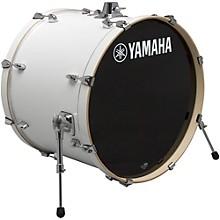 Stage Custom Birch Bass Drum 24 x 15 in. Pure White