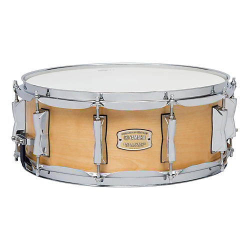 yamaha stage custom birch snare 14x5 5 14 x 5 5 in natural wood musician 39 s friend. Black Bedroom Furniture Sets. Home Design Ideas