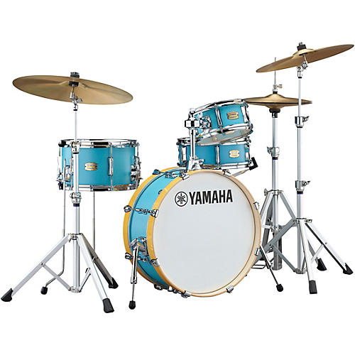 Yamaha Stage Custom Hip 4-Piece Shell Pack Matte Surf Green